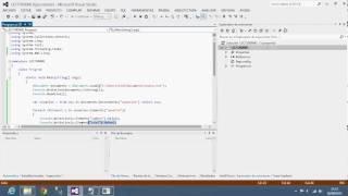 Lector de XML usando la libreria System.Xml.Linq; XDocument y XElem...