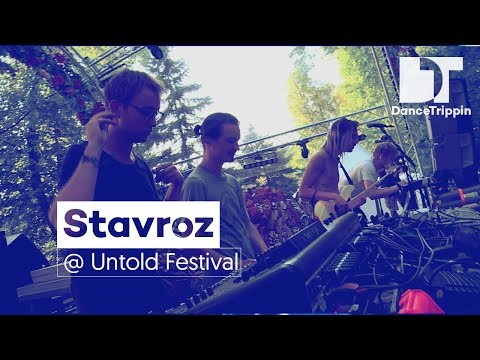 Stavroz (LIVE) at Untold Festival  Daydreaming stage (Romania)