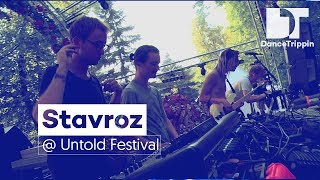 Stavroz (Live) on the Daydreaming stage at Untold Festival (Romania)