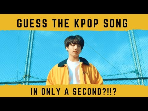 GUESS THE KPOP SONG IN 1 SECOND?!?? (HARD)