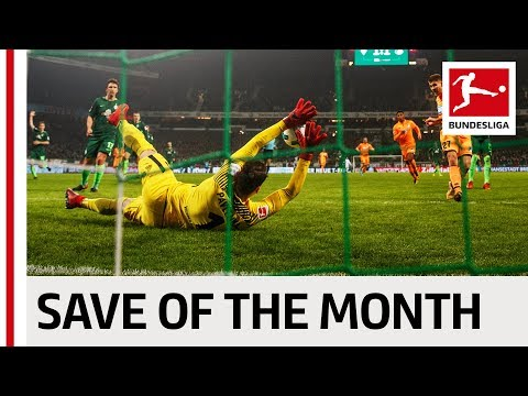 Greatest Save of the Month - January - 2017/18 Season