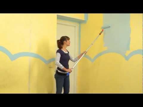 Personalizzare la cameretta dei bambini come un Giardino - Parte 1: Dipingere le pareti