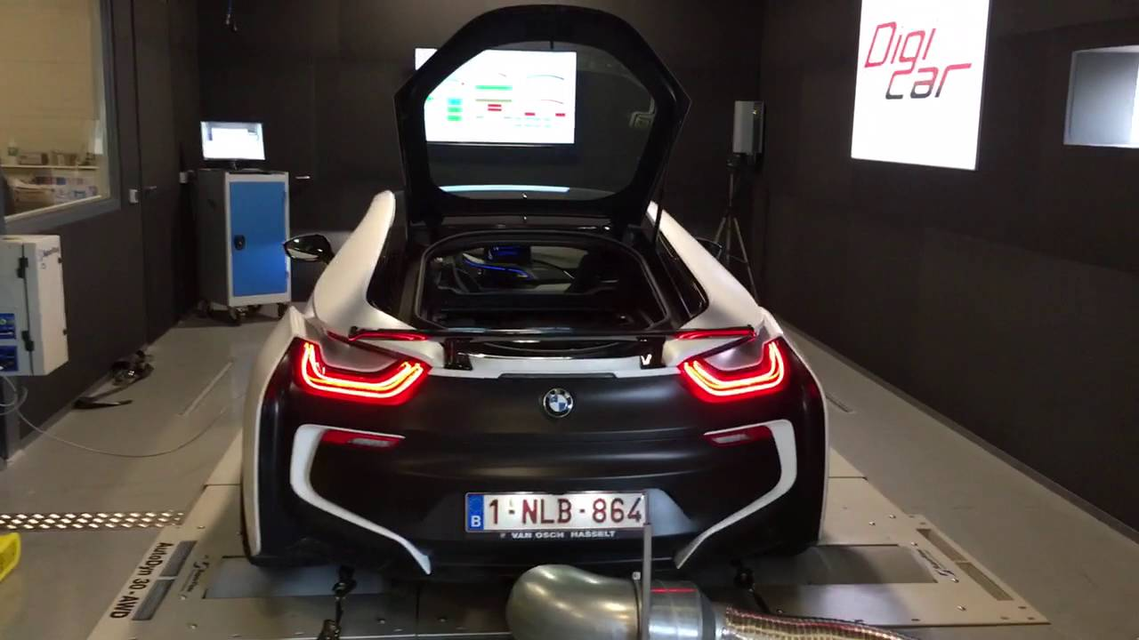 Bmw I8 Stage Ii Tuning Developement Digicar Engineering Youtube