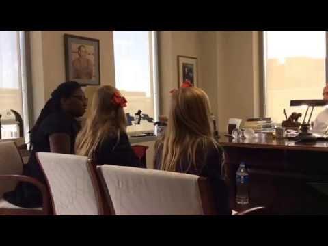 1st part Langdon girl Senator Dole interview