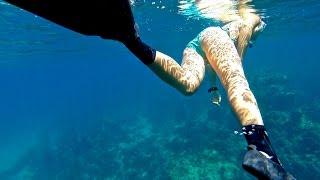 "skindiving 016 ""Hirizo Beach"" (2015) 「ヒリゾ浜」"