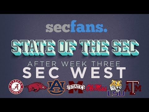 State of the SEC (West): Week 4 Miss St vs LSU Review, Alabama vs Colorado St Review