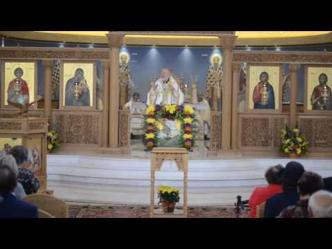 Metropolitan Joseph Homily @ St George in Fishers, IN