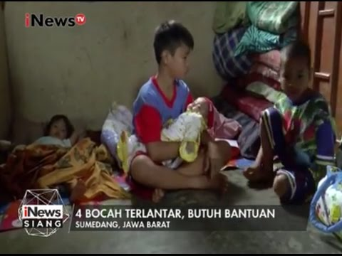 Kisah Revan, Bocah 5 SD Yang Mengasuh 3 Adiknya Yang Masih Berusia 5 Bulan - INews Siang 13/03