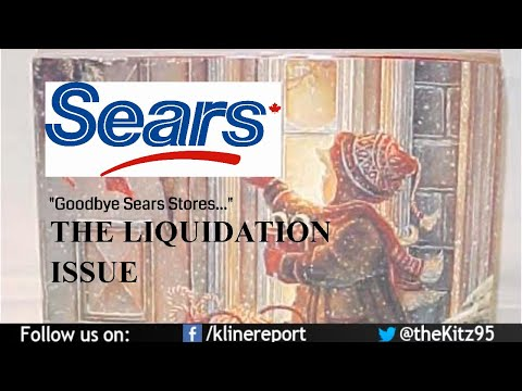 SEARS🇨🇦 is on it's way OUT. LIQUIDATING ALL STORES!!