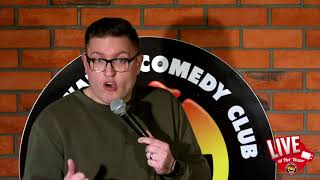 Mike Cox   LIVE at Hot Water Comedy Club