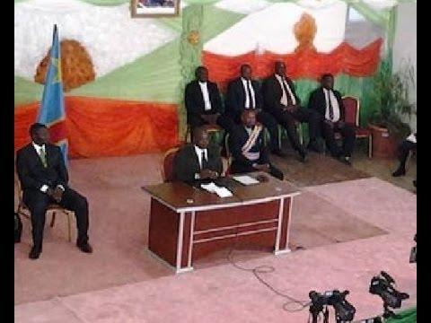 Message de Joseph Kabila en Swahili a la Population de Goma