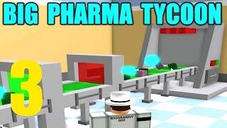 ULTIMATE RESEARCH - Big Pharma Tycoon Ep 3 - ROBLOX