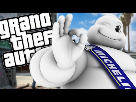 THE MICHELIN MAN MOD (GTA 5 PC Mods Gameplay) thumbnail