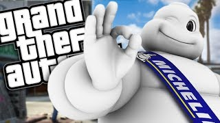 THE MICHELIN MAN MOD (GTA 5 PC Mods Gameplay)