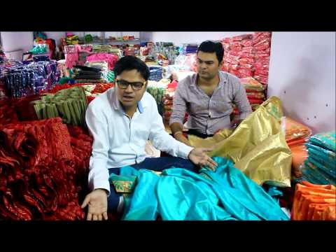 Buy Cheap Saree From Factory - Start Your Retail Shop Today Part 2 - Vlog Surat