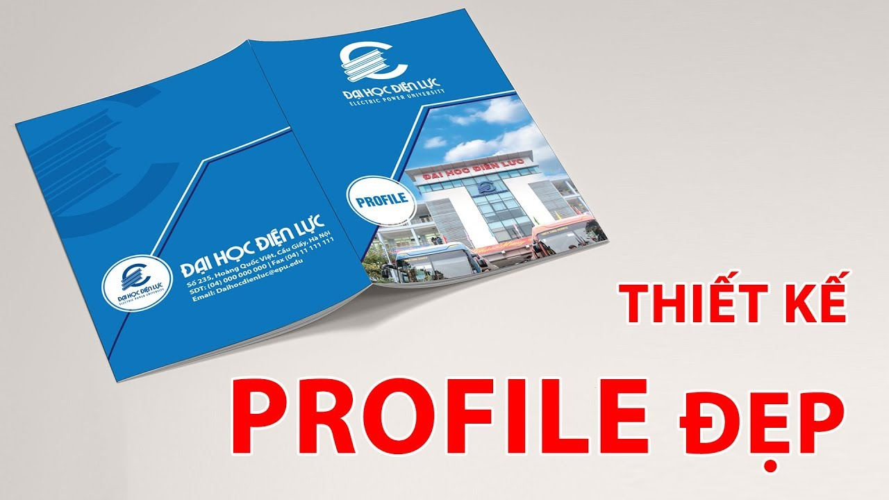 Thiết kế Profile đẹp, Hướng dẫn thiết kế Profile bằng Illustrator và photoshop