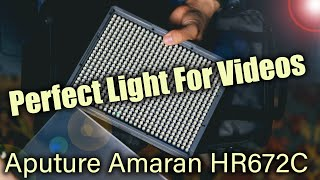 Aputure Amaran HR672C - Unboxing and Review
