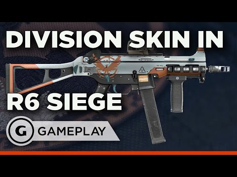 The Division Skin for Rainbow Six Siege is Pretty Great - Gameplay