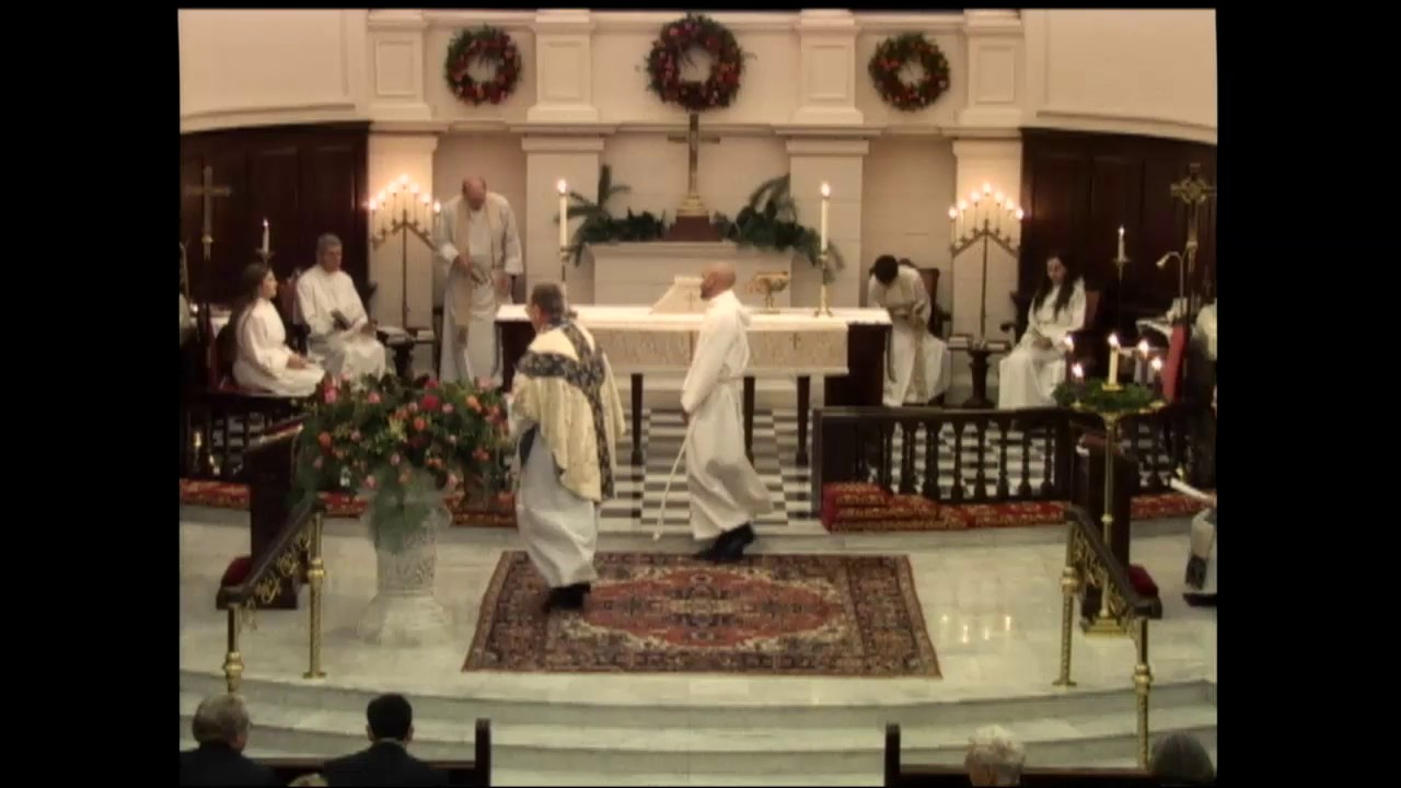 holy eucharist rite ii at the 1100 pm service december
