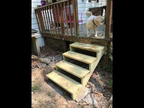 New Deck Steps