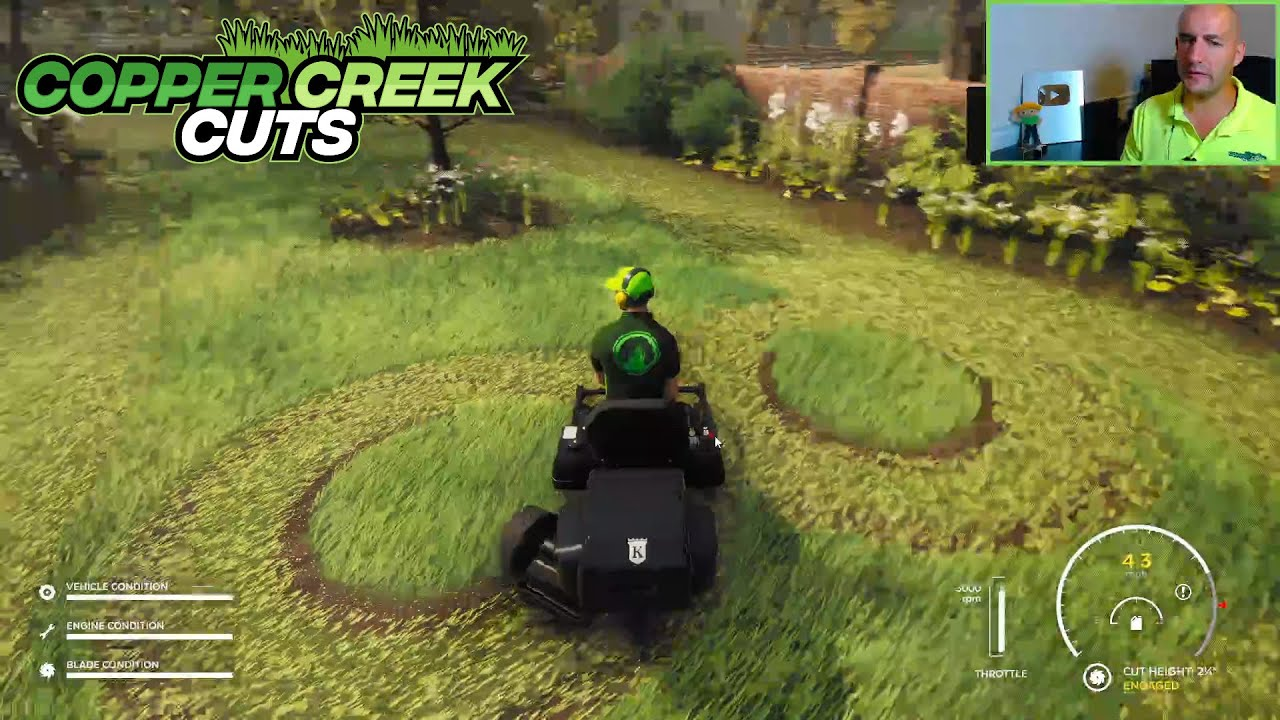 Lawn Mowing Simulator Teaches You How To Talk To Customers