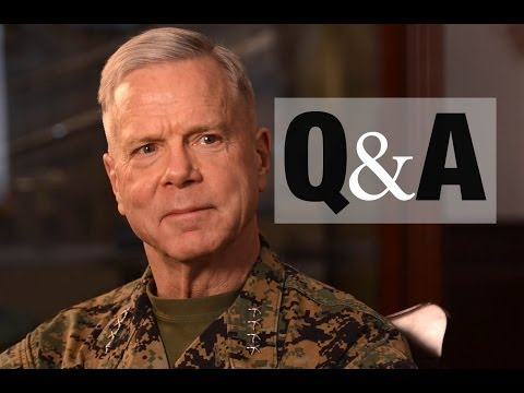 #AskCMC | You asked. The top Marine answered.