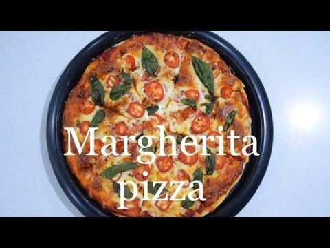 Margherita pizza| Italian Cuisine| Pizza recipe vegetarian