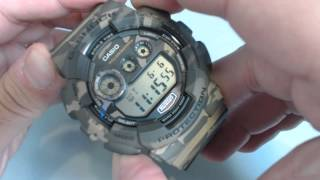 Casio G-Shock Camouflage Digital Sports Watch GD120CM-5