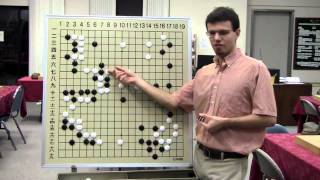 Repeat youtube video Nick Sibicky Go Lecture #17 - 3-Stone Game Reviews
