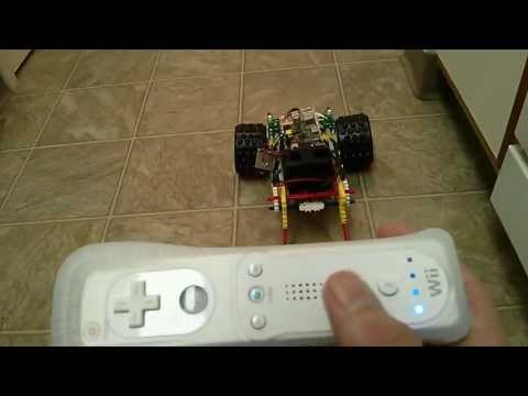 Raspberry Pi - Wii Remote Robot [Finished]