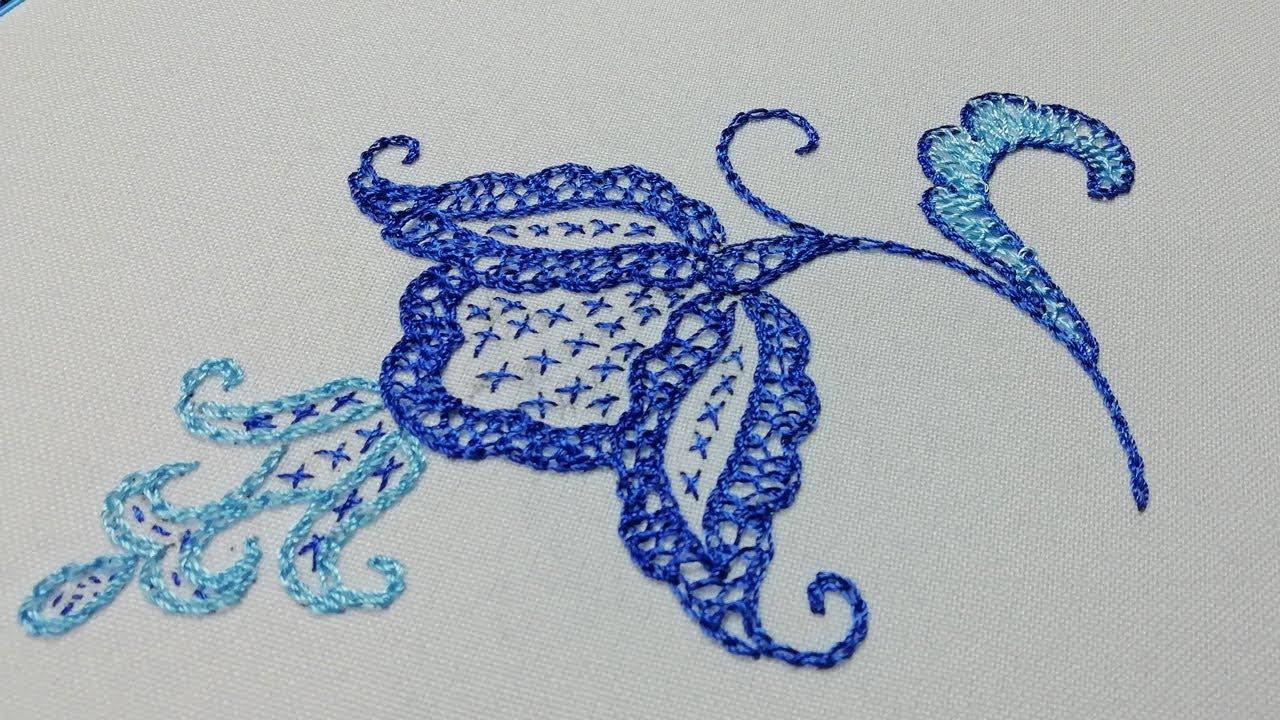 Вышивка Майорка |  Embroidery Majorcan | Punto Mallorquín