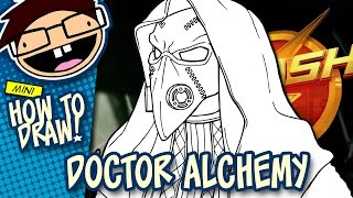 How to Draw DOCTOR ALCHEMY (The Flash) | Narrated Easy Step-by-Step Tutorial