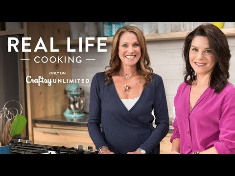 Real Life Cooking EPISODE 1: Leftover Chicken & Black Bean Enchiladas   only on Craftsy Unlimited