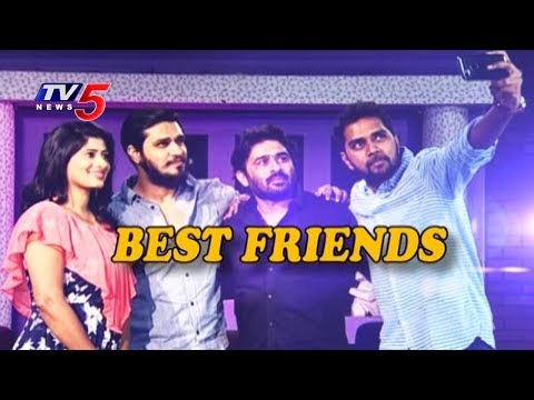 Friendship Day Special Interview With Nikhil, Sudheer Varma & Chandu Mondeti | TV5 News