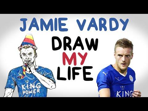Jamie Vardy | Draw My Life