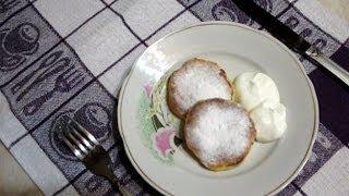 Syrniky (cheesecakes) With Raisins. Ukrainian Recipe