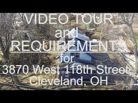Rental House West Side Cleveland Ohio!🏡💯 | 3870 West 118th Street, Cleveland, OH 44111