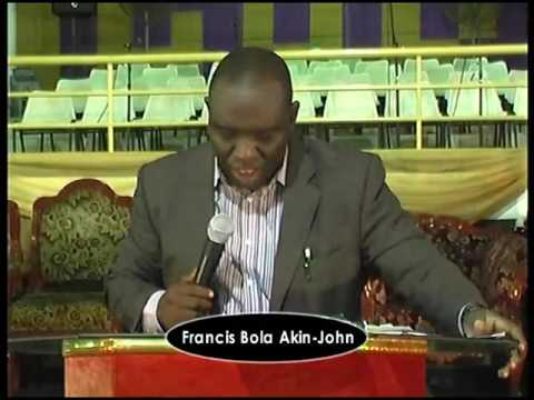 HOW TO REDUCE STEALING & FINANCIAL SCANDALS IN THE CHURCH by Dr. Francis Bola Akin-John