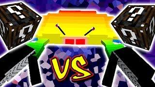 CARANGUEIJO ARCO-ÍRIS VS. LUCKY BLOCK ESPECIAL (MINECRAFT LUCKY BLOCK CHALLENGE RAINBOW CRAB)