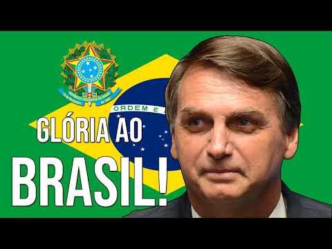 🇧🇷 Jair Bolsonaro - NEW PRESIDENT OF BRAZIL! (Brazilian National Anthem) 2019