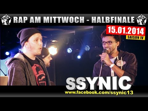 RAP AM MITTWOCH: 15.01.14 BattleMania Halbfinale (3/4) GERMAN BATTLE