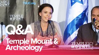 "Panel Q&A ""The Temple Mount & Archeology"" 