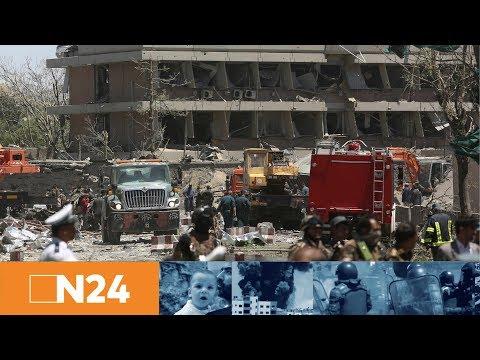 N24 Nachrichten - Horror-Anschlag vor deutscher Botschaft: Terroristen richten Blutbad in Kabul an