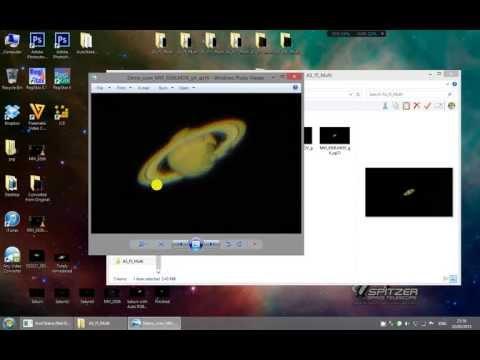 Astrophotography Demo, Registax 6 , AutoStakkert 2 in HD 720p