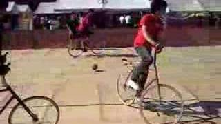 Bicycle soccer