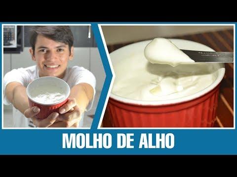 Como Fazer - Molho de Alho (maionese de alho caseira)