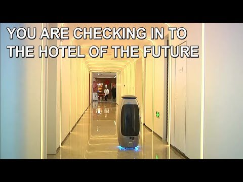 China's New Automated Futuristic Hotel (Flyzoo) Vs Japan's Fully Robotic Hotel (Henn Na Hotel)