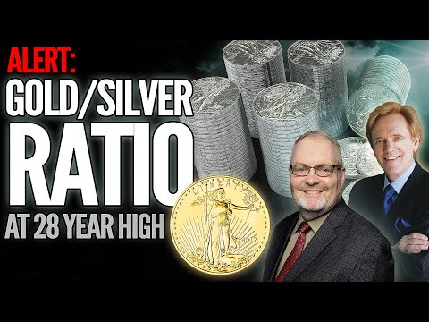 ALERT: Gold To Silver Ratio Hits 28 Year High - Will It Reach 100?