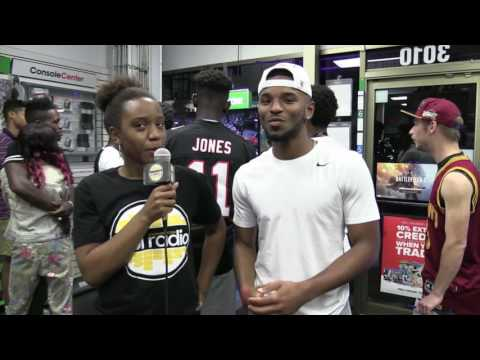 OWL Radio TV at the Game Stop Midnight Release of 2k17