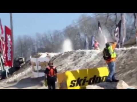Paralyzed Snowmobiler Garrett Goodwin Snocross Racing Again